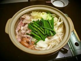 簡単スタミナ鶏鍋★