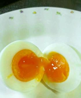 絶妙な半熟ゆで卵の作り方(写真UP)