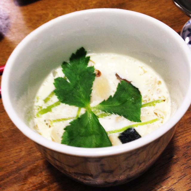 🤑松茸 の お 吸い物 茶碗蒸し