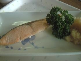 焼き魚 鱒