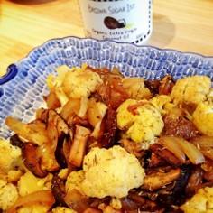 【ココナッツオイル】カリフラワーの炒め物
