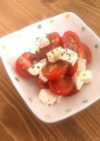 プチトマトとキリチーズのカプレーゼ