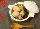 旬のお惣菜!里芋と蓮のおでん風❀