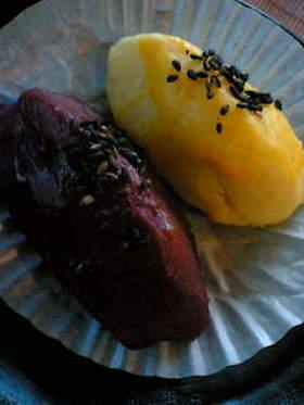 紫&さつま芋の仲良しスイートポテト