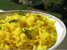 南インド風レモンライス