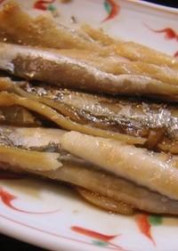 太刀魚の蒲焼風照り焼き(涎)