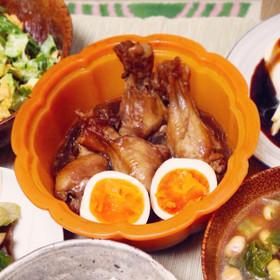 シリコンスチーマー☆手羽元のさっぱり煮☆