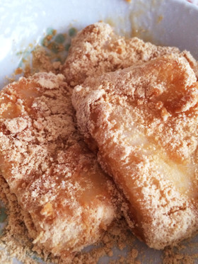 美味しいきな粉もちの作り方♡