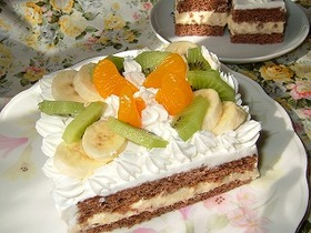 フルーツケーキ~バナナクリーム~