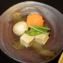 高野豆腐と里芋の含め煮