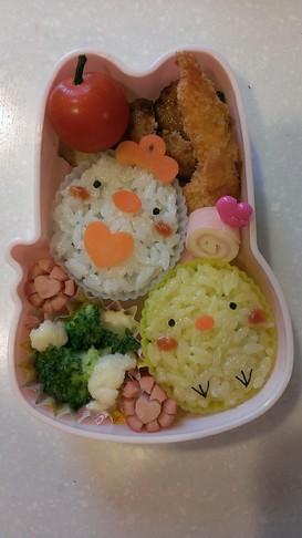 簡単*幼稚園お弁当 *ヒヨコ* キャラ弁