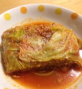 トマトJで簡単☆キャベツとひき肉の重ね煮