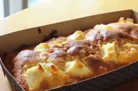 林檎とクリームチーズのパウンドケーキ