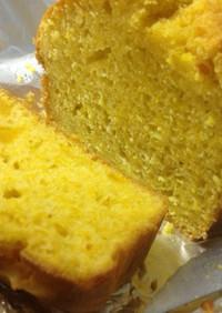 3ステップひょうたん南瓜のパウンドケーキ