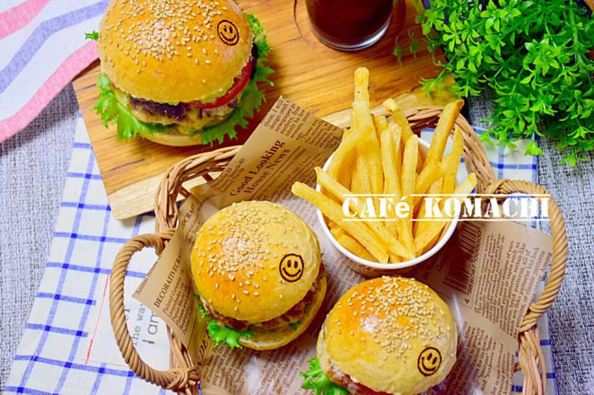 簡単♡ハンバーガー
