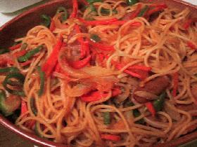 ☆スパゲティナポリタン☆