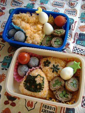 幼稚園児のお弁当 9月