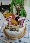 初音みく誕生日ケーキ