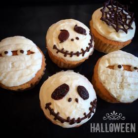 ハロウィン♡簡単マフィン&カップケーキ