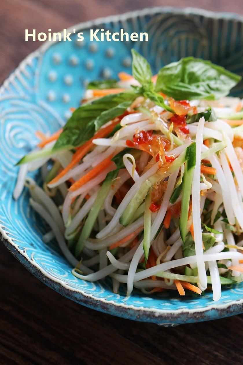 ベトナム風ღもやしのスイチリサラダ
