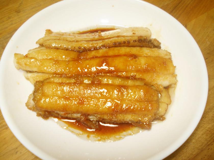 簡単 太刀魚のかば焼き(手順写真)