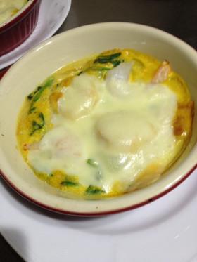 ダイエット夕食20日目豆腐と豆乳グラタン
