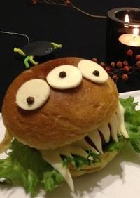 ハロウィンのハンバーガー