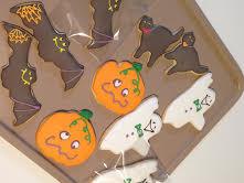 ハロウィン!クッキーにアイシング★