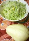ハヤトウリで*簡単あっさりサラダ。
