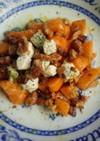 秋味♡柿と胡桃とクリームチーズのサラダ