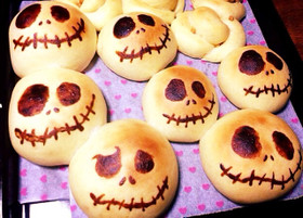 ハロウィン☆お菓子なジャックパン♪