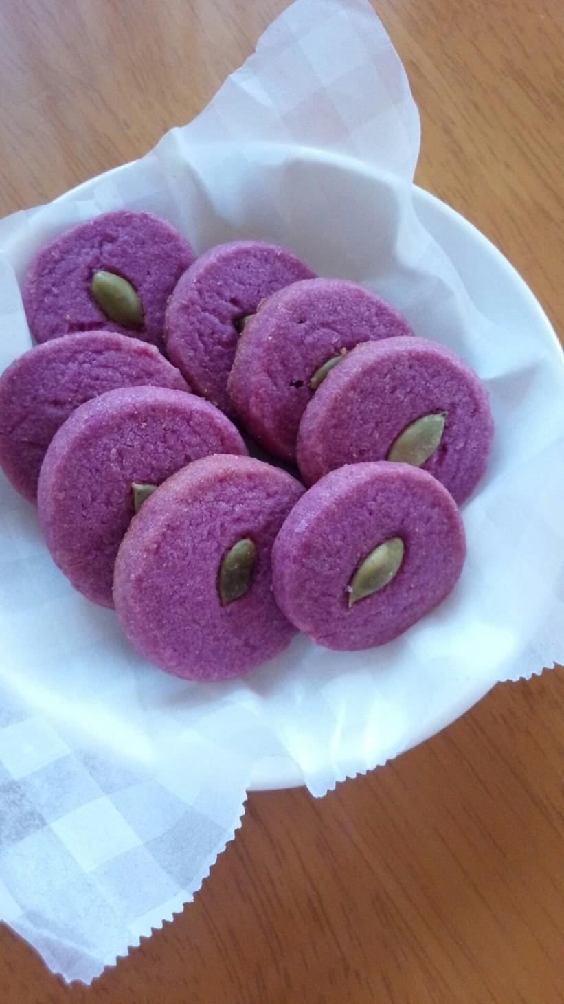 ハロウィンスイーツ☆紫いもクッキー