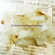 まるで貝ヒモ!こんにゃくチップスホタテ味の写真
