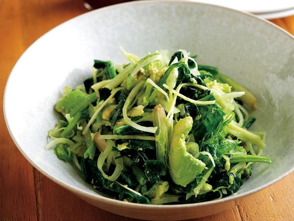 もみ野菜サラダ