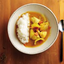 鶏胸肉のスープカレー