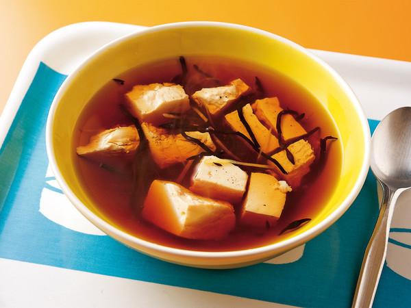 ひじきの満腹スープ