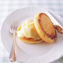 ポテサラとチーズのオープンサンド風フレンチトースト