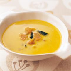 かぼちゃと長ねぎのスープ
