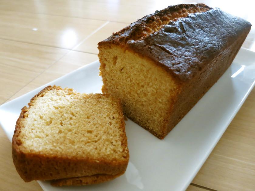 HMでマヌカパウンドケーキ