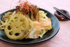 鮭と根菜の焼き南蛮