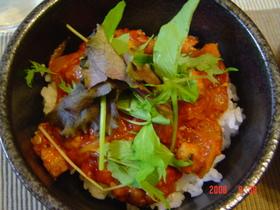秋刀魚のイタリアン丼
