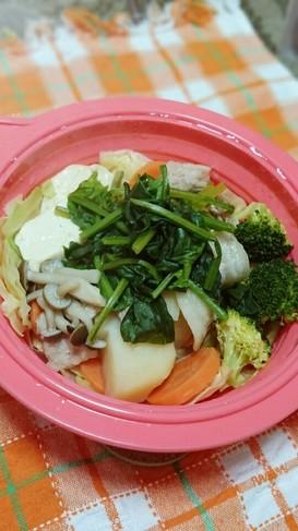 ♡レンジで簡単温野菜サラダ♡