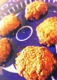 オートミールのスパイスジンジャークッキー