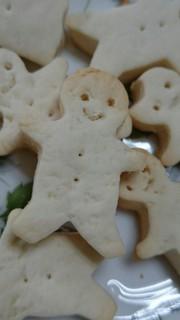 2歳児と一緒にオイルクッキーの写真