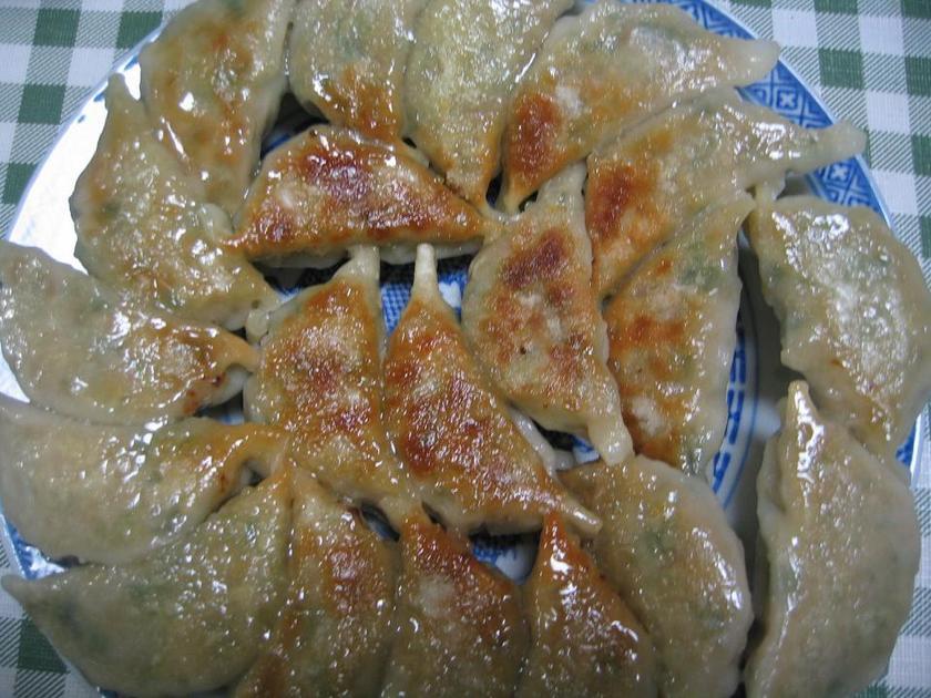 じゅわっと美味しい♪キムチ餃子