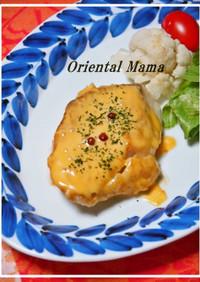 ★鱈フィレのチェダーチーズがけムニエル