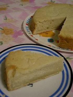 豆乳ヨーグルトでヨーグルトケーキ