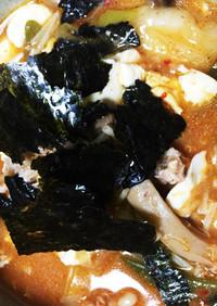キムチ炒飯の残りで☆熱ウマ雑炊キムチ風味