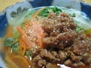 ◆あったか♪ピリ辛汁ビーフン◆の写真