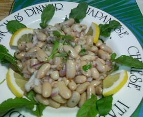 豆のサラダエスニック風